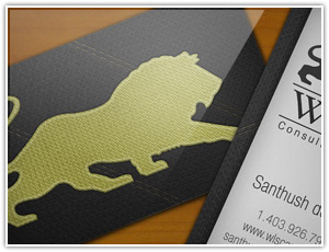 Business card design - Click to enlarge
